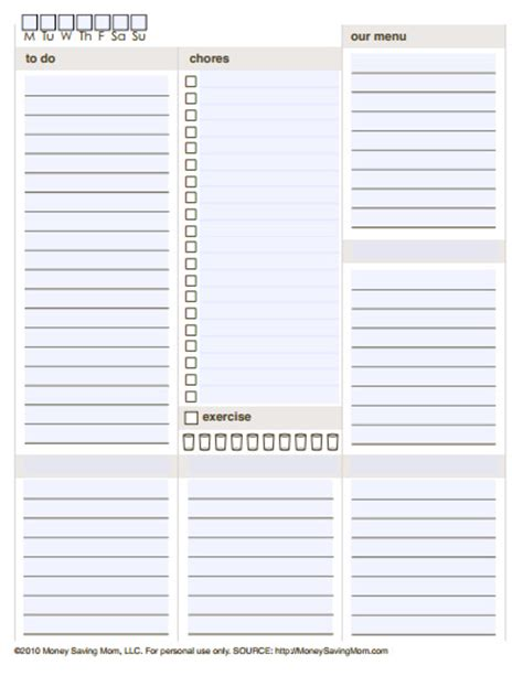 free printable daily agenda half size journals 10 free printable daily planners contented at home