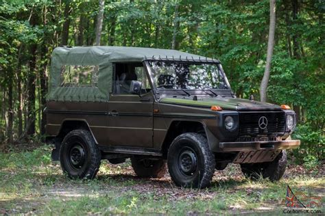 Mercedes That Looks Like A Jeep Mercedes G Class Wolf