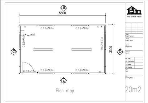 plan image floor plan gallery image 3 part 2 2011 gx023 plan of 20m2 clevercabins com au