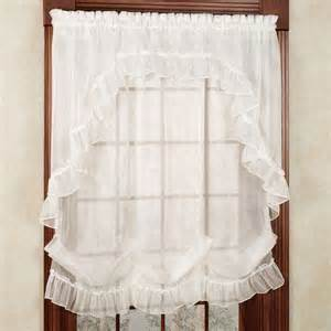 Priscilla Curtains With Attached Valance 1000 Ideas About Priscilla Curtains On Ruffled Curtains Country Curtains And Curtains