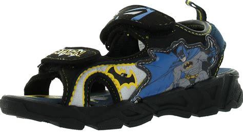 batman sandals disney boys batman light up fashion sandals ebay