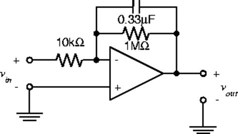 integrator circuit using op with values elec 242 lab experiment 5 2