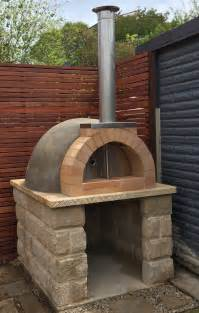 Pizza Oven by Calabrese Entertainer Precast Diy Refractory Woodfired