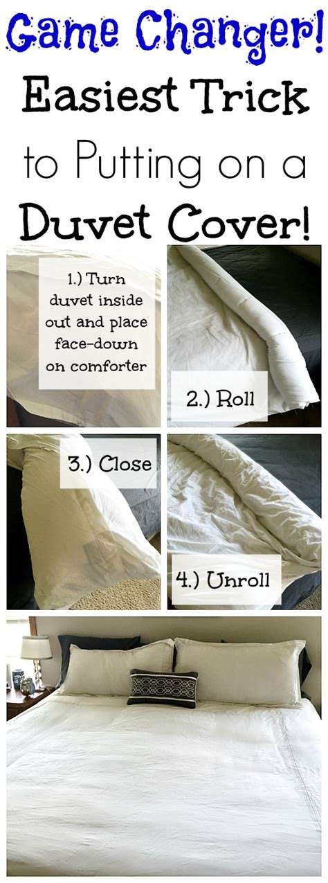 how to put on a comforter cover cleaning tip tuesday easy trick to putting on a duvet