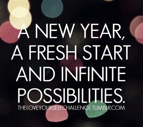 new year when does it start fresh start words of wisdom