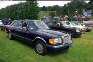 560 Sel Mercedes Mercedes 560 Sel Technical Details History Photos