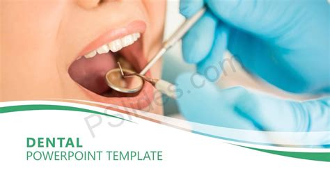 Dental Powerpoint Template Pslides Free Animated Dental Powerpoint Templates