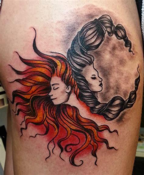 imagenes tatuajes sol y luna tatuajes sol y luna para hombres