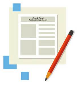 Ongoing Credit Card Authorization Form Template Credit Card Authorization Forms Hloom