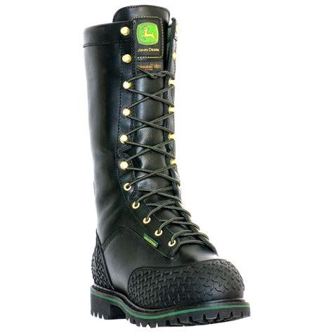 s deere 174 12 quot safety toe waterproof miner s boot