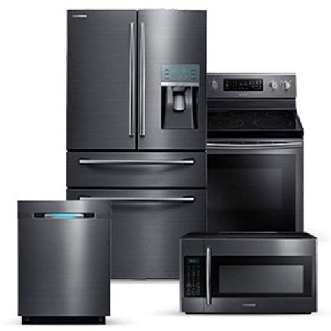 kitchen appliance suite deals 4 piece kitchen appliance packages samsung home depot
