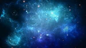 Outer Space Wall Mural blue galaxy wallpaper 31677