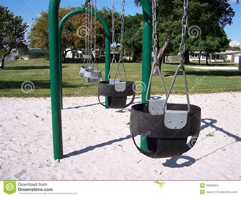 age for baby swing at park infant baby swings park stock photo image of baby