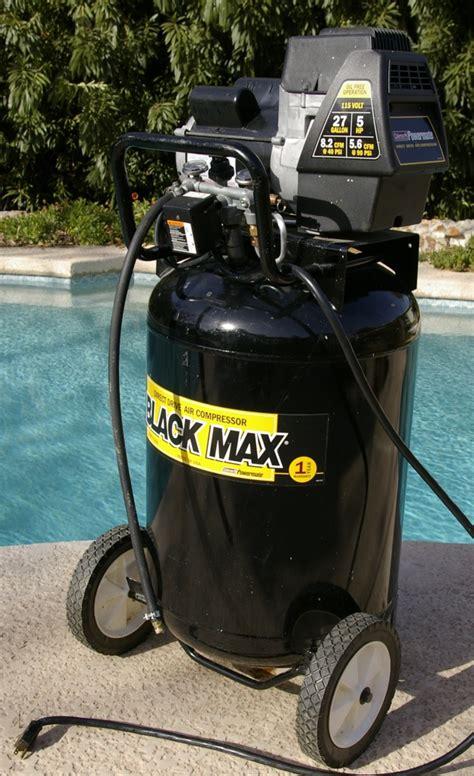 coleman powermate  gallon  hp  cfm air compressor ebay