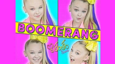 Jojo Mp3 Songs | free download jojo siwa boomerang official video youtube