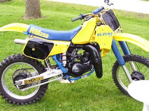 1984 Suzuki Rm250 1984 Suzuki Rm250 Wi