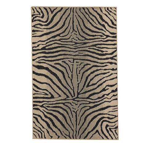 Zebra Indoor Outdoor Rug Zebra Belgique Indoor Outdoor Rug Ballard Designs