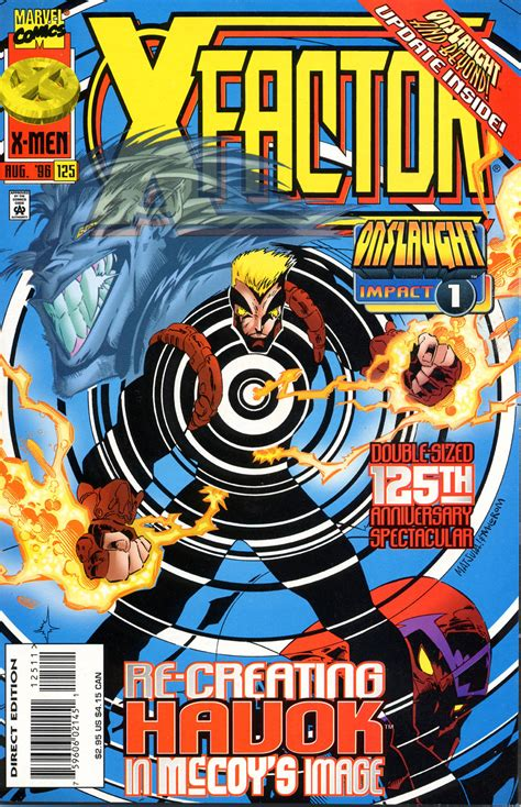 x vol 1 x factor vol 1 125 marvel comics database