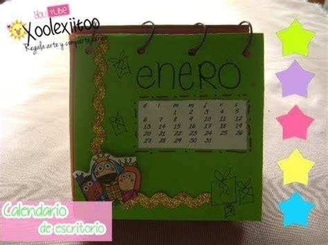 Calendario Cartulina Manualidades Xoolexiitoo Calendario De Escritorio 2o14 Manualidades