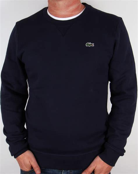 Navy Sweatshirt Sweater lacoste crew neck sweatshirt navy neck sweater