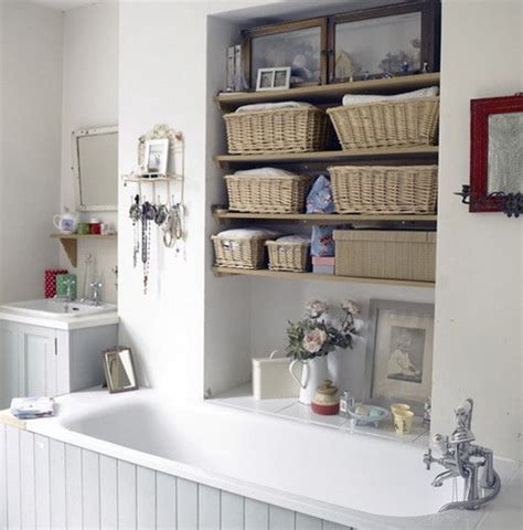 bathtub storage ideas 53 bathroom organizing and storage ideas photos for