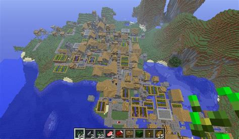 Big House Blueprints by Minecraft Village Seed 1 8 1 New 2015 Youtube