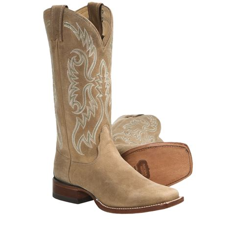 nocona boots square toe cowboy boots leather square toe