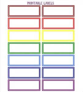 colored labels printable color coded diy labels