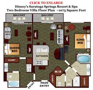 saratoga springs treehouse villa floor plan theming and accommodations at disney s saratoga springs resort spa disney villas and resorts