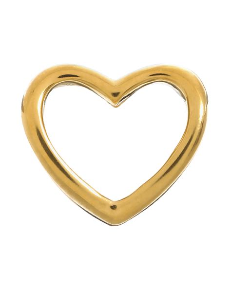 Endless   Open Heart Gold Plated Charm   51156   Alexis
