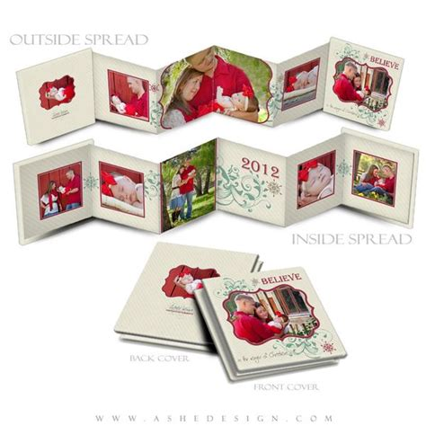 accordion photo cards templates ashe design 3x3 accordion mini photo book