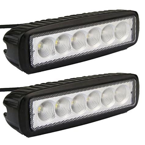 senlips led light bar led light bar senlips 2x 18w flood light led lights fog
