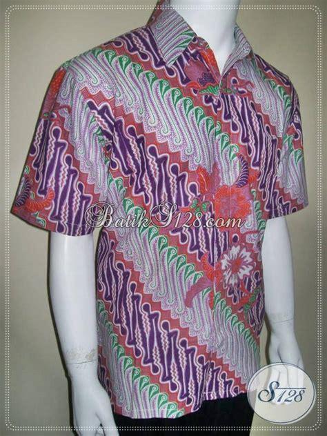 Hem Pendek Sws Furing Parang A Merah 2 kemeja batik pria motif parang bagus harga murah bro toko batik 2018