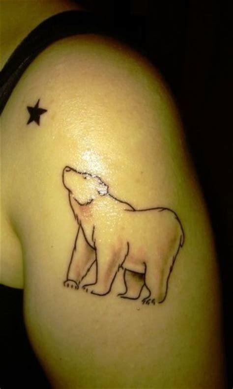bear silhouette tattoo silhouette
