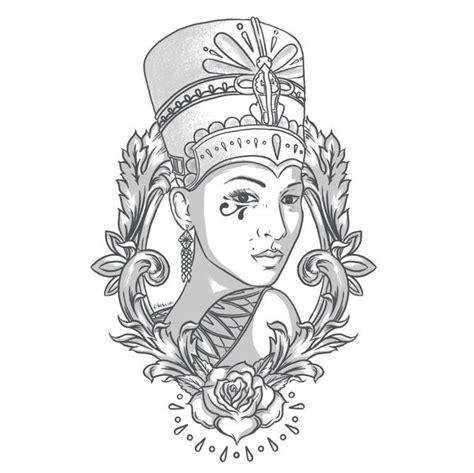 queen tattoo drawings best 25 nefertiti tattoo ideas on pinterest egyptian