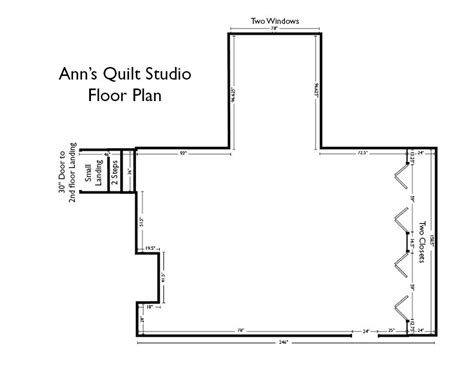 sewing room floor plans ann s quilt studio remodel part 1 notions the