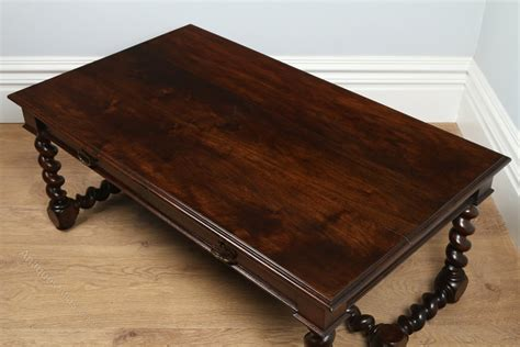 French Provincial Walnut Coffee Table Circa 1850