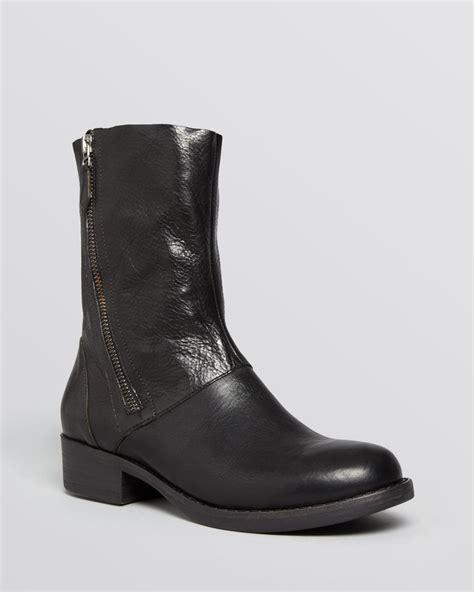 eileen fisher boots eileen fisher boots alfa side zip in black lyst