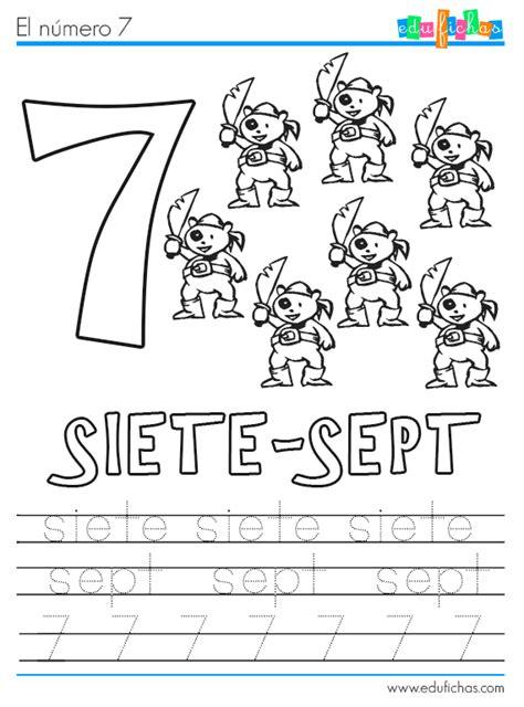 imagenes para aprender ingles fichas en franc 233 s para aprender los numeros fichas