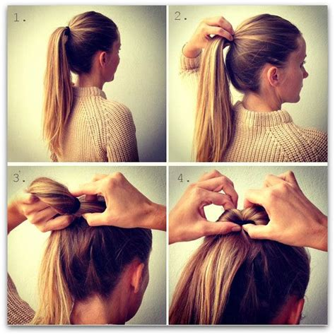 tutorial tatanan rambut simple ke pesta kanubeea hair clip