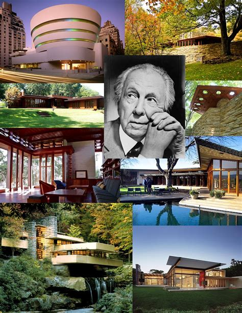 Frank Lloyd Wright Réalisations by Arquitectura Fashion Arte