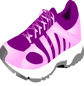 running shoes clipart black and white clipart free