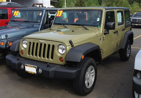 Jeep Commando S Commando 2013 Wrangler Paint Cross Reference