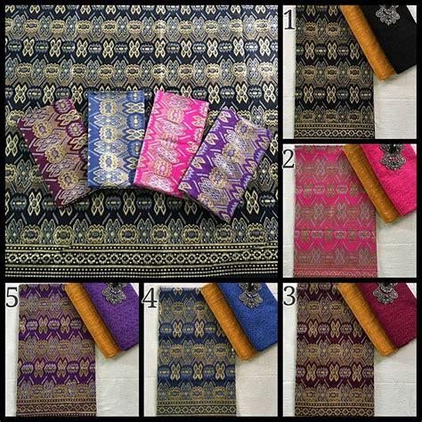 Batik Prada Songket Dan Embos kain batik pekalongan batik prada kombinasi kain batik