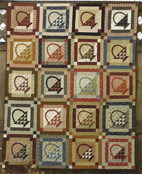 Folk Quilt by Primitive Folk Quilt Pattern Gather The Troops