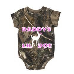Daddy s lil doe realtree baby regular camo one piece