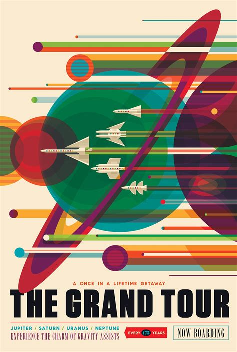 Nasa Design Poster | visions of the future