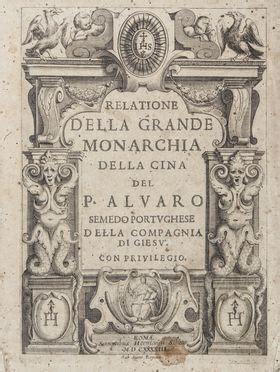 libreria orientalia roma semedo alvaro relatione della grande monarchia della