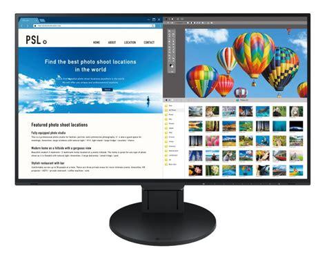 monitor senza cornice il monitor 4k da 27 quot senza cornice di eizo per
