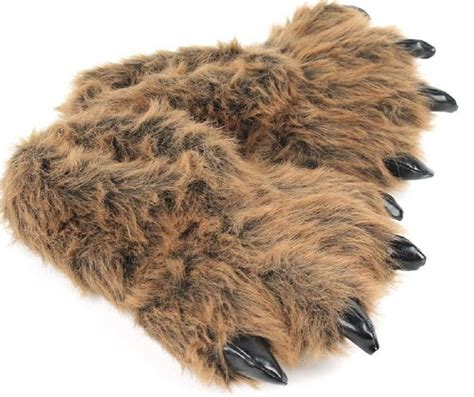 bear paw house shoes grizzly bear paw slippers 187 gadget flow